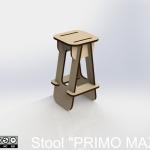 "Stool ""PRIMO MAXI"""