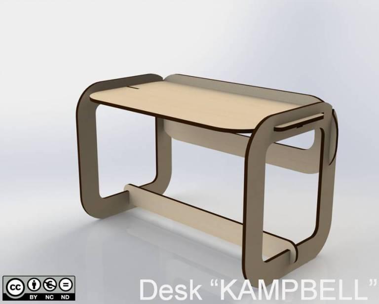 """Desk """"KAMPBELL"""""""