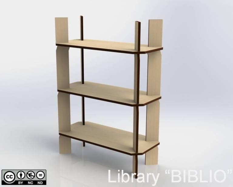 """Library """"BIBLIO"""""""