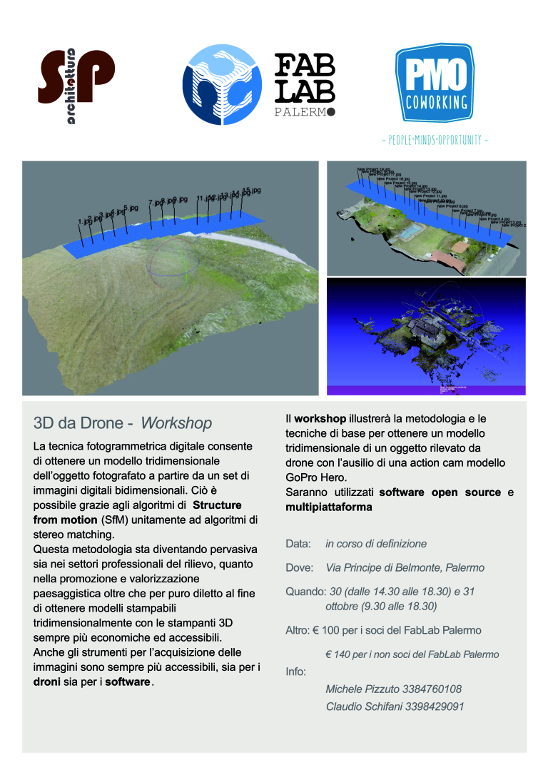 Workshop 3D da Drone