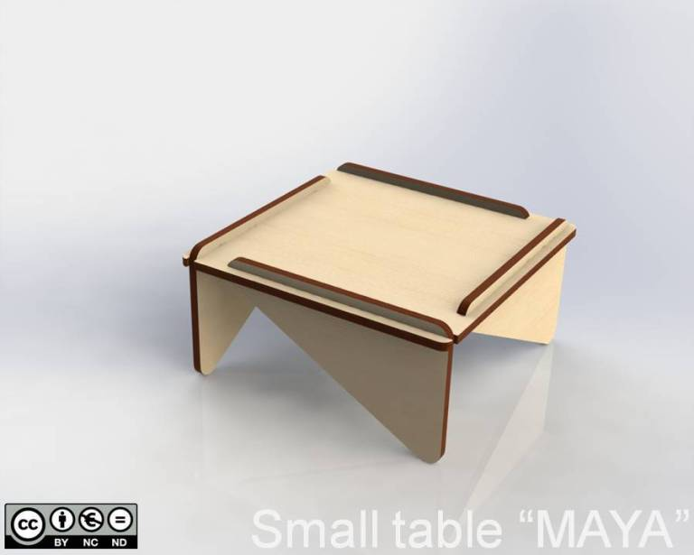 "Small table ""MAYA"""
