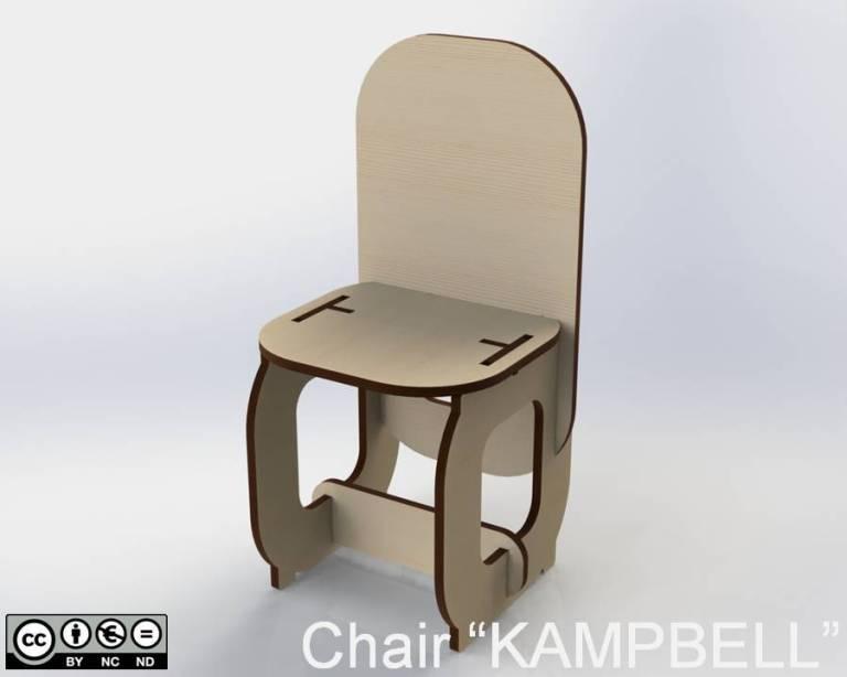 "Chair ""KAMPBELL"""