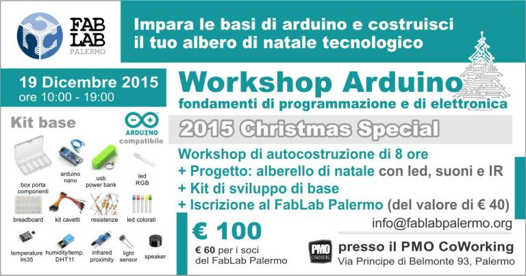 Workshop di Arduino