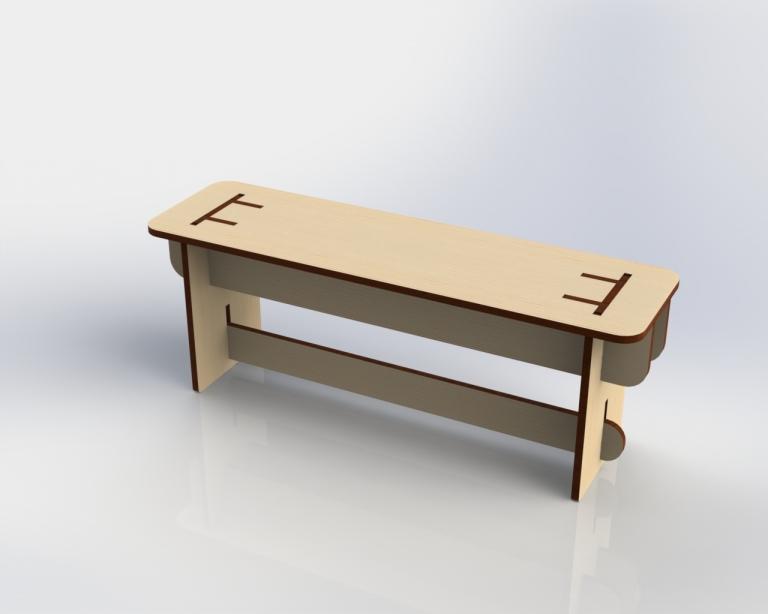 "Bench ""PANKA"""