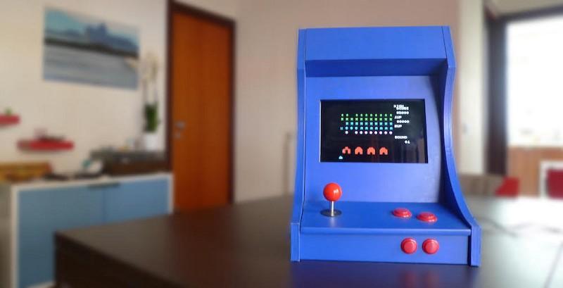 fablab palermo game over progettando con noi un arcade