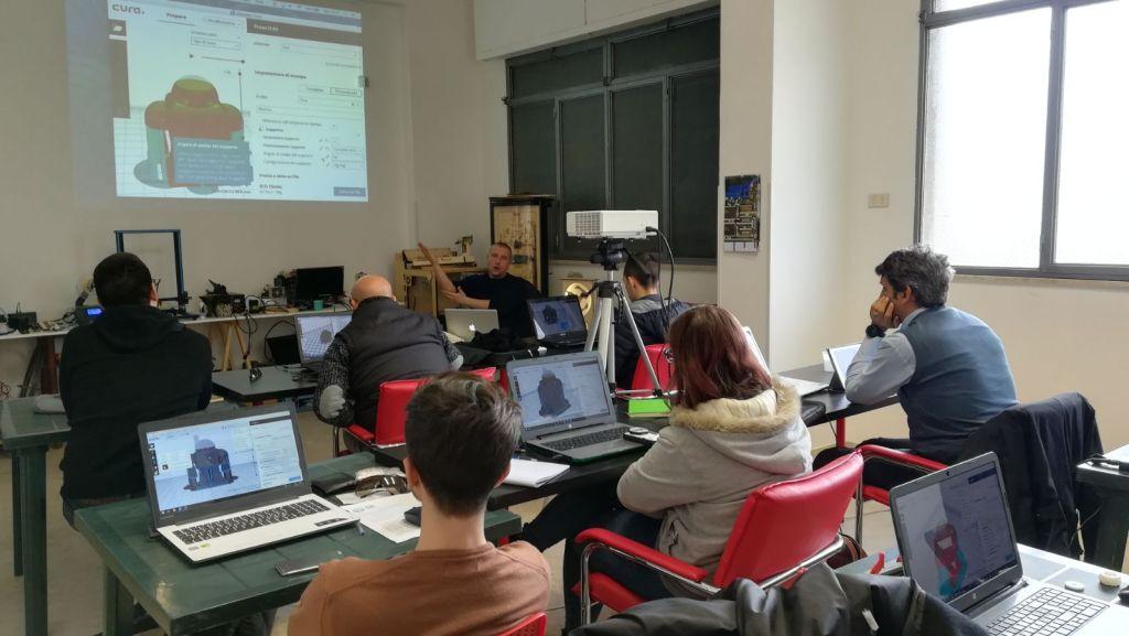 FabLab Palermo Workshop Stampa 3D