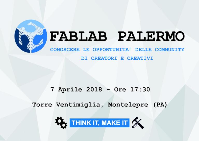 FabLab Palermo Presentazione a Montelepre