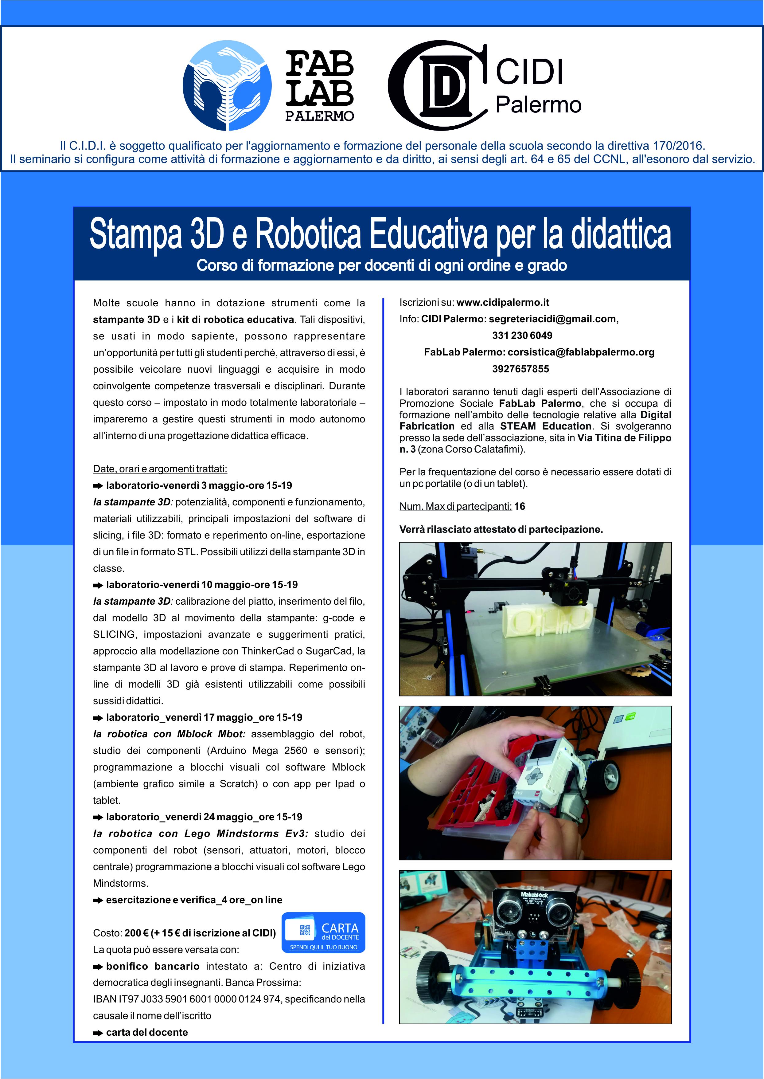 scuola_insengnanti_fablab_palermo_stampa3d_robotica_educativa