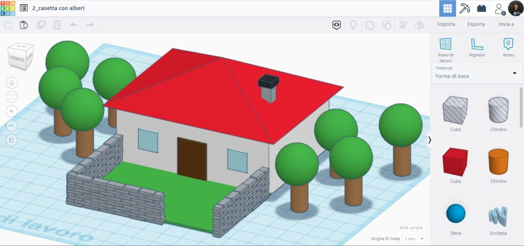 tinkercad - fablab palermo - modellazione 3D - stampa 3D